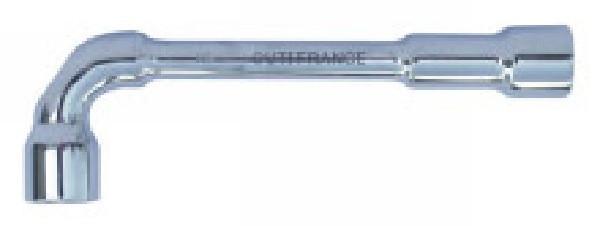 Clé à pipe débouchée 21 mm