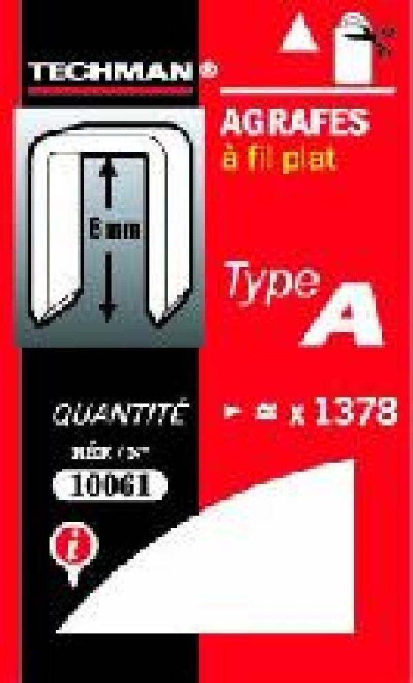 Agrafes 8 mm - type C
