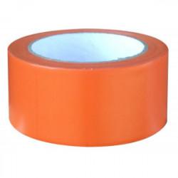 Ruban adhésif de chantier orange 33 m x 50 mm de marque OUTIFRANCE , référence: B1487600