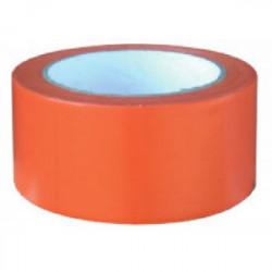 Ruban adhésif de chantier orange 33 m x 75 mm de marque OUTIFRANCE , référence: B1487700