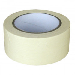 Ruban de masquage - papier cache lisse 50 m x 48 mm de marque OUTIFRANCE , référence: B1488600