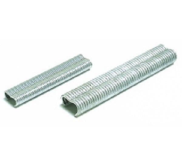 1000 agrafes galvanisées 22 mm