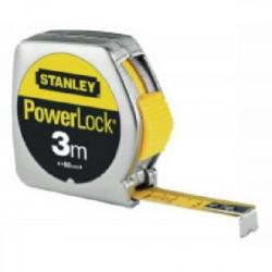 """Mesure """"Powerlock"""" métal 5 m de marque STANLEY, référence: B1501600"""
