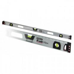 Niveau alu magnétique Fatmax 600 mm gradué (3 fioles) de marque STANLEY, référence: B1502500