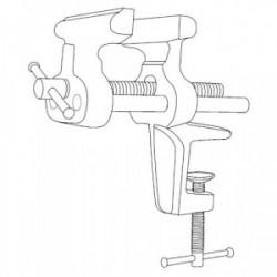 Etau agrafe amateur 70 mm de marque OUTIFRANCE , référence: B1503600