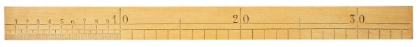 Jauge de charpentier bois 350 mm