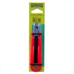 Couteau de sécurité ambidextre auto-rétractable de marque OUTIFRANCE , référence: B1517100