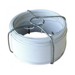 Fil de fer plastifié blanc n°6 Ø 1,2 mm x 50 m de marque OUTIFRANCE , référence: B1526800