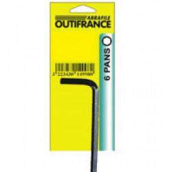 Clé 6 pans 2,5 mm de marque OUTIFRANCE , référence: B1535500