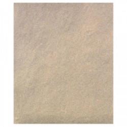 50 feuilles de papier Silex (grain 80/2) de marque OUTIFRANCE , référence: B1561600