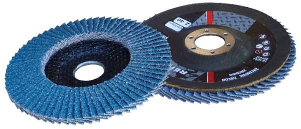 Disque de ponçage à lamelles Ø 115 mm (grain 60)