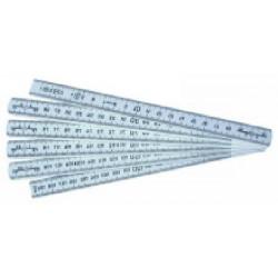 Mesure pliante plastique 1 m de marque OUTIFRANCE , référence: B1566900
