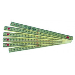 Mesure pliante nylon Longlife 2 m de marque OUTIFRANCE , référence: B1567100
