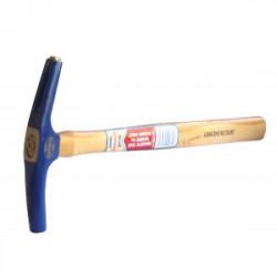 Marteau de tapissier à tête ronde et arrache clou aimanté de marque OUTIFRANCE , référence: B1594800