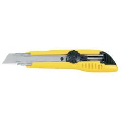 Cutter 18 mm avec blocage par molette crantée de marque TAJIMA, référence: B1596600