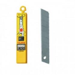 10 lames de cutter 18 mm de marque TAJIMA, référence: B1597600