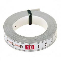 Ruban de mesure adhésifs 3 m x 16 mm de marque TAJIMA, référence: B1598900