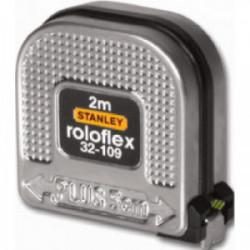 """Mesure """"Roloflex"""" 2 m x 16 mm de marque STANLEY, référence: B1603500"""