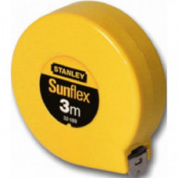 """Mesure """"Pla"""" 3 m x 6,35 mm de marque STANLEY, référence: B1604300"""