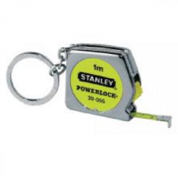 """Mesure porte-clés """"Powerlock"""" 1 m avec blocage de marque STANLEY, référence: B1605300"""