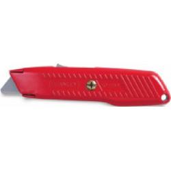 Couteau de sécurité auto rétractable 155 mm de marque STANLEY, référence: B1608300