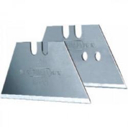 100 lames trapèze court avec trous 50 x 19 x 0,45 mm de marque STANLEY, référence: B1608900