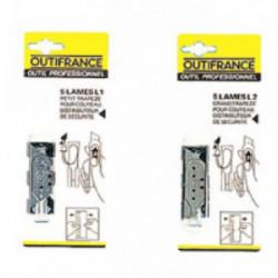 Boite de 100 lames à crochets de marque OUTIFRANCE , référence: B1624800