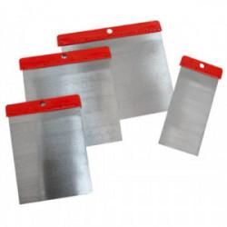 Couteaux à enduire pour carrossier avec lame acier de marque TECHMAN, référence: B1640300