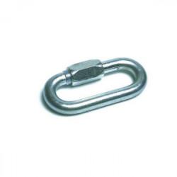 Maillon rapide en acier zingue 280 kg de marque TECHMAN, référence: B1657600