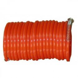 Tuyau spirale à air comprimé Ø 6 / 8 mm x 5 m de marque OUTIFRANCE , référence: B1662900