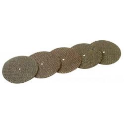 5 disques à tronçonner renforcés fibre verre Ø 32 mm de marque MAXICRAFT, référence: B1680700