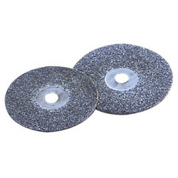 2 disques à tronçonner diamantés Ø 18 / 20 mm de marque MAXICRAFT, référence: B1680800