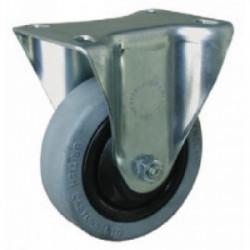 Roulette pivotante sans frein (platine 100 x 80 mm) de marque OUTIFRANCE , référence: B1697400