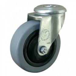 Roulette pivotante sans frein (?il Ø 10 mm) de marque OUTIFRANCE , référence: B1697700