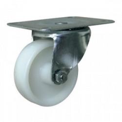 Roulette pivotante nylon Ø 75mm (platine 105 x 85 mm) de marque OUTIFRANCE , référence: B1697900