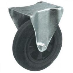 Roulette fixe sans frein (platine 140 x 110 mm) de marque OUTIFRANCE , référence: B1698500