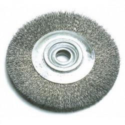 Brosse métallique circulaire Ø 100 mm de marque OUTIFRANCE , référence: B1743400