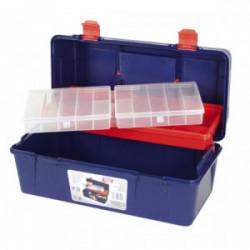 Boîte à outils 1 étage + 1 organiseur de marque OUTIFRANCE , référence: B1755100