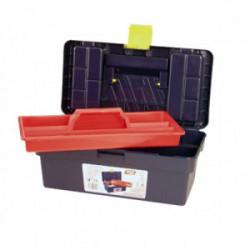 Boîte à outils avec baladeur 356 x 190 x 150 mm de marque OUTIFRANCE , référence: B1755200