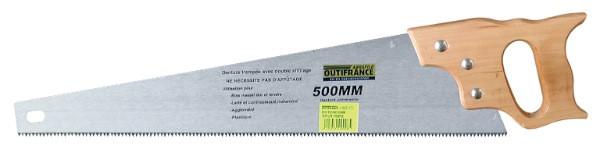 Scie égoine 500 mm (7 dents / pouce) à poignée bois