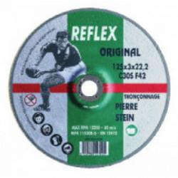 Disque à tronçonner pour métaux à moyeu plat Ø 350 mm de marque OUTIFRANCE , référence: B1772900