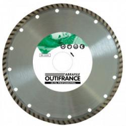 Disque diamant jante continu Ø 125 x 22 mm de marque OUTIFRANCE , référence: B1774400