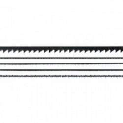 12 lames de scie fines 130 mm pour bois et plastiques de marque MAXICRAFT, référence: B1777700