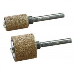 Tambour abrasif carbure de tungstène Ø 9 mm + support de marque MAXICRAFT, référence: B1787400