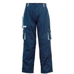Pantalon à poches et genouillères bleu foncé 44 / 46 de marque OUTIFRANCE , référence: B1788500