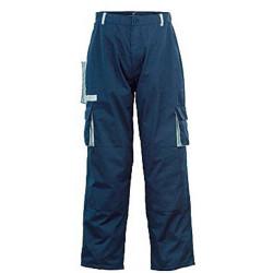 Pantalon à poches et genouillères bleu foncé 48 / 50 de marque OUTIFRANCE , référence: B1788600