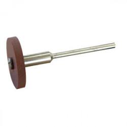 Polissoir abrasif Ø 22 mm + porte-disques de marque MAXICRAFT, référence: B1790600