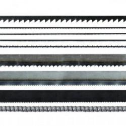 5 lames de scie 130 mm pour métaux de marque MAXICRAFT, référence: B1795200