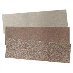 3 feuilles abrasives corindon (grain 80 - 150 - 240) de marque MAXICRAFT, référence: B1797000