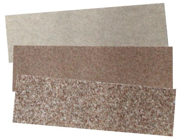 3 feuilles abrasives corindon (grain 80 - 150 - 240)